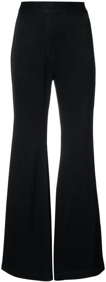 Ellery high waist flared trousers