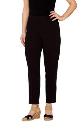 Susan Graver Chelsea Stretch Comfort Waist Ankle Pants