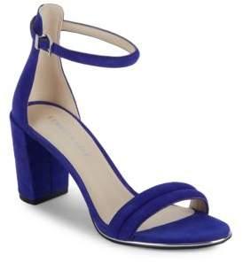 Lex Suede Sandals $130 thestylecure.com