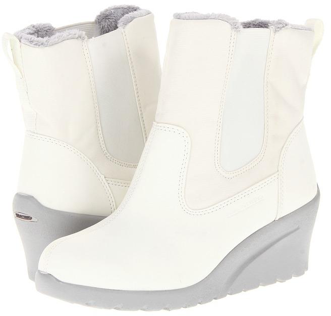 Mountrek Plaza Twin Gore (White) - Footwear