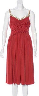 Vera Wang Sleeveless Embellished Dress $95 thestylecure.com