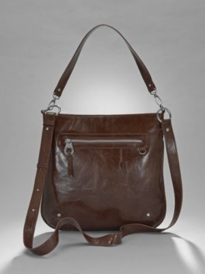 City Style Front Zip Crossover Bag