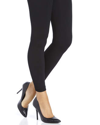 Capelli New York Black Faux Fur Lined Seamless Leggings