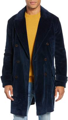 Wax London Elwin Double Breasted Coat