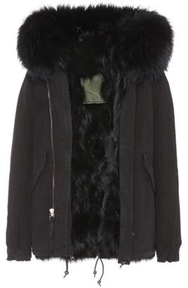 Mr & Mrs Italy Fur-lined cotton parka