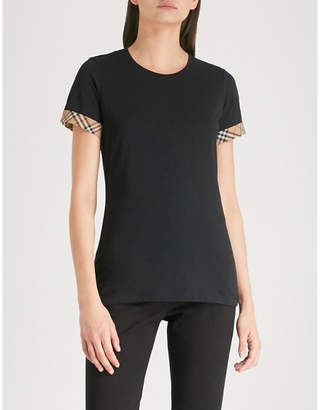 Burberry Kabini stretch-cotton T-shirt