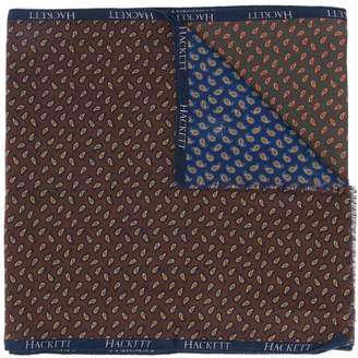 Hackett paisley-print scarf