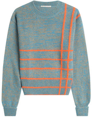 Marco De Vincenzo Knit Pullover with Wool, Angora and Mohair