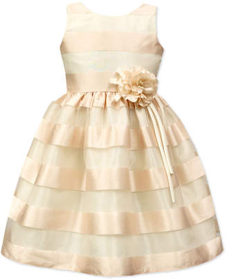 Jayne Copeland Shadow Stripe Special Occasion Dress, Toddler & Little Girls (2T-6X) $74 thestylecure.com