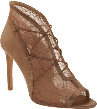 G.I.L.I. Got It Love It G.I.L.I. Peep Toe Elastic Front Booties - Kaarina 2