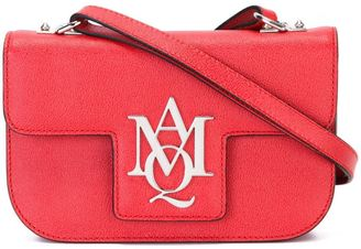 Alexander McQueen 'Insignia' satchel $1,195 thestylecure.com