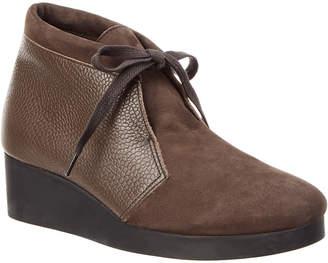 Arche Hablo Leather Wedge Bootie