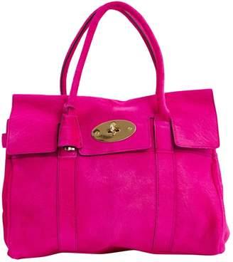 6a24d92e7953 Mulberry Bayswater Pink Pony-style calfskin Handbag
