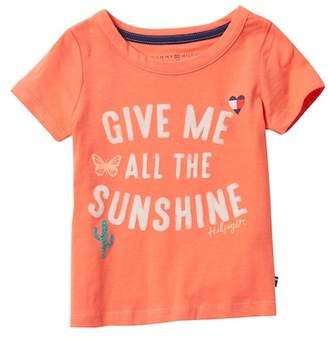 Tommy Hilfiger Sunshine Tee (Toddler Girls)