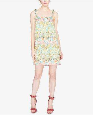 Rachel Roy Embroidered Floral Mini Dress