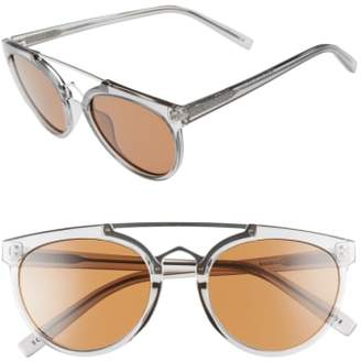CLYDE BONNIE Rose 53mm Retro Sunglasses