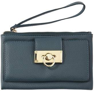 Hunter Love & Lore LOVE AND LORE WRISTLET FOREST GREEN