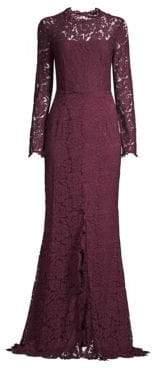 Rachel Zoe Angie Open Back Lace Gown