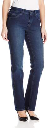 Miraclebody Jeans Women's Abby 5 Pocket Straight Leg Jean