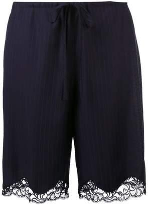 Alexander Wang lace trim shorts