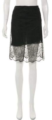 Ralph Lauren Knee-Length Lace Skirt