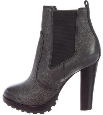 Tory Burch Tory Burch Leather Sullivan Booties
