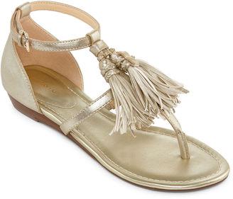 LIZ CLAIBORNE Liz Claiborne Darcy Womens Sandal $55 thestylecure.com