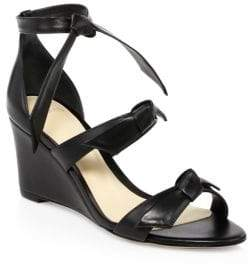 Alexandre Birman Black Lolita Wedge