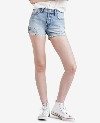 Levi's 501 Cotton Cutout Shorts