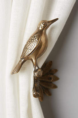 Anthropologie Gilded Aviary Tieback