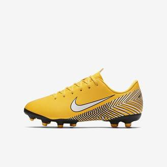 Nike Jr. Mercurial Vapor XII Academy Neymar Jr Little/Big Kids' Multi-Ground Soccer Cleat