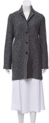 Amina Rubinacci Metallic Wool-Blend Jacket