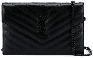 Saint Laurent 'Monogram' chain wallet