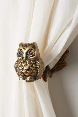 Anthropologie Wise Owl Tieback