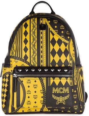 MCM men's rucksack backpack travel stark