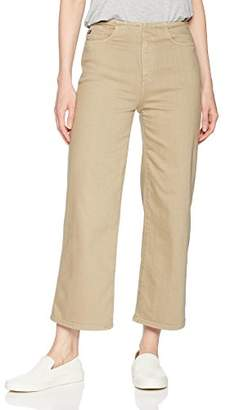 AG Adriano Goldschmied Women's Etta High-Waisted Wide Leg Crop