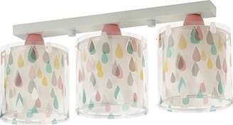 Dalber Color Rain Regleta 3 Lights E27, Multi-Colour