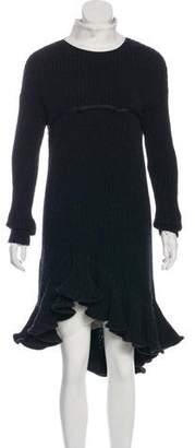 Giambattista Valli Fall 2016 Wool Midi Dress w/ Tags