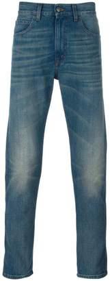 Gucci (グッチ) - Gucci タイガー刺繍 テーパードジーンズ
