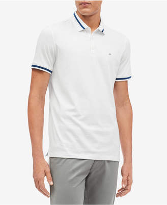 Calvin Klein Men's Slim-Fit Tipped Polo