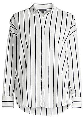 ATM Anthony Thomas Melillo Women's Stripe Poplin Shirt