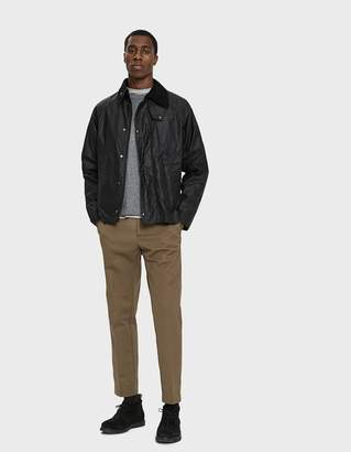 Engineered Garments Barbour Graham Wax Jacket in Black