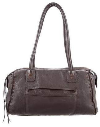 Carlos Falchi Fatto a Mano by Leather Shoulder Bag