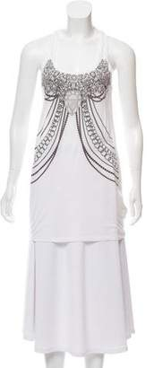 Torn By Ronny Kobo Sleeveless Graphic Top w/ Tags