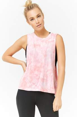 Forever 21 Active Tie-Dye Muscle Tee