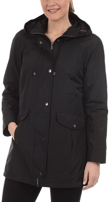 Fleet Street Women's Hooded Midweight Anorak Jacket