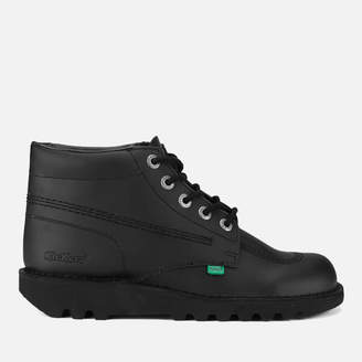 Kickers Men's Kick Hi Leather Boots - Black