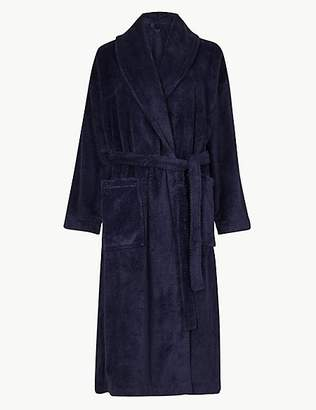 M&S Collection Supersoft Textured Dressing Gown