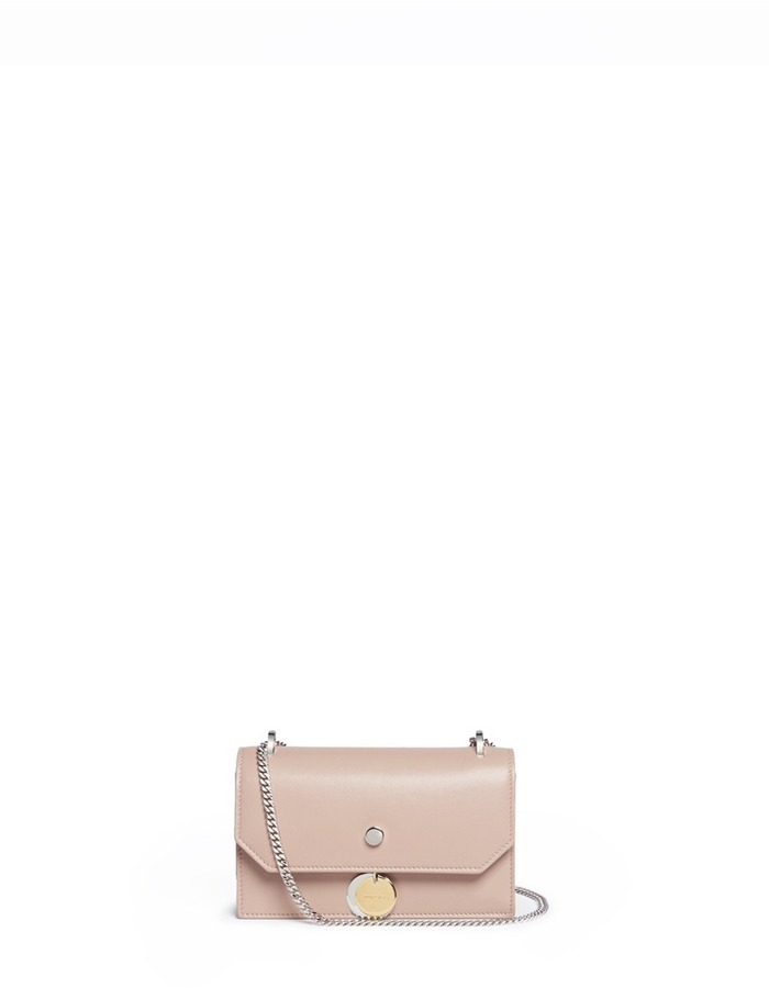 Jimmy Choo Jimmy Choo 'Finley' medallion leather crossbody bag