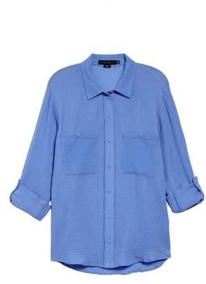 Sanctuary Steady Boyfriend Roll Tab Shirt